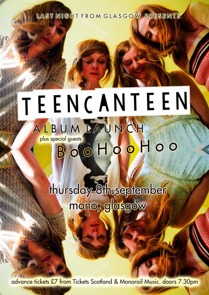 TeenCanttenGlasgowAlbumLaunch